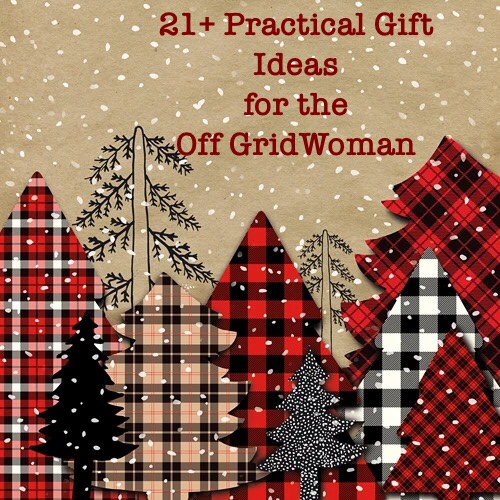 Gift ideas off grid woman