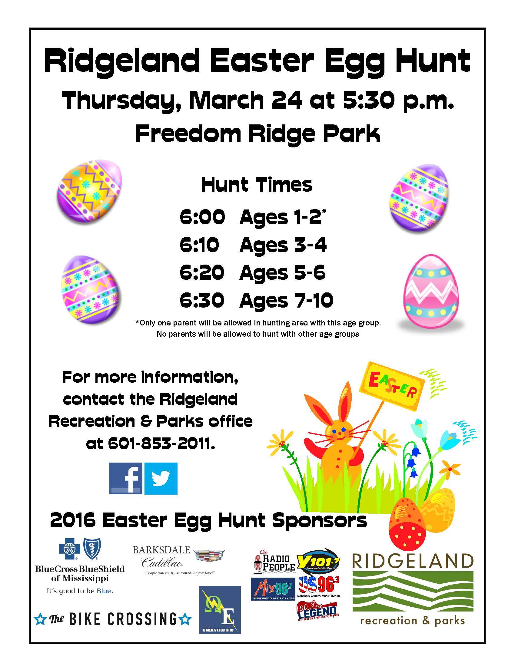 the city of ridgeland blog archive ridgeland easter egg hunt the