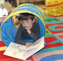 Library boy in tube IMG_9467