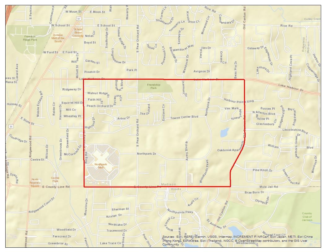 Ridgeland Opportunity Zone
