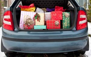Keep purchases and valuables out of view in your vehicle this holiday season.