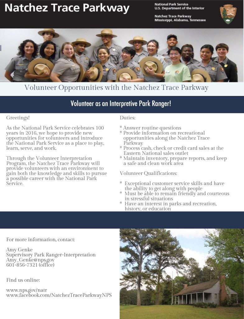 Park Volunteer Flyer