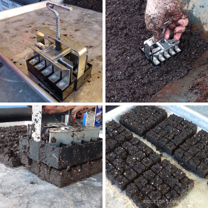 Ridgetop Farm & Garden | Mini Soil Blocks