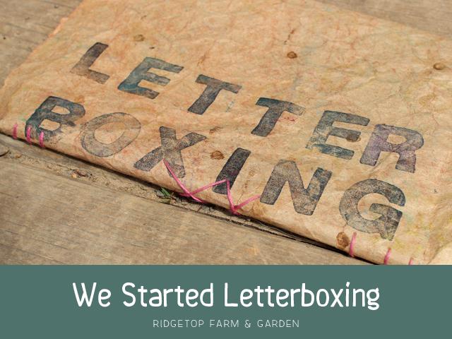 Ridgetop Farm & Garden | Letterboxing