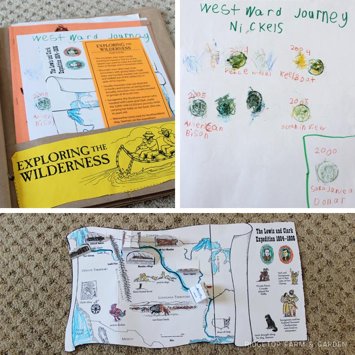 Ridgetop Farm & Garden |History Pockets | Moving West | Explorers