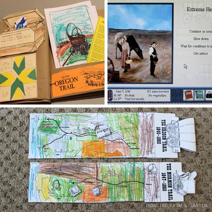 Ridgetop Farm & Garden |History Pockets | Moving West | Oregon Trail