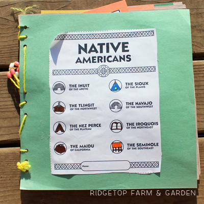 Native American History Pockets