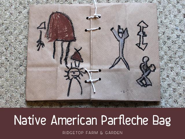 Ridgetop Farm & Garden | Native American | Parfleche Bag