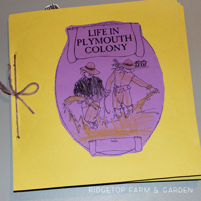 Plymouth Colony History Pockets
