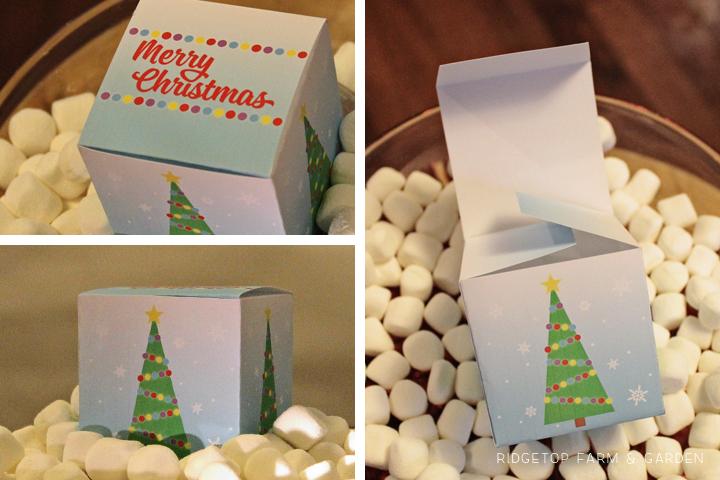 Ridgetop Farm and Garden | 12 Days of December | Christmas Gift Box | Printable Freebie
