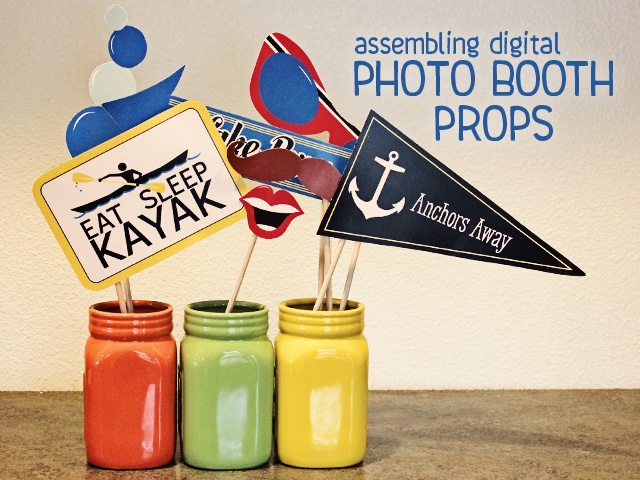 Photo Booth Props - title