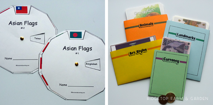 Continent Boxes - Asia - 2