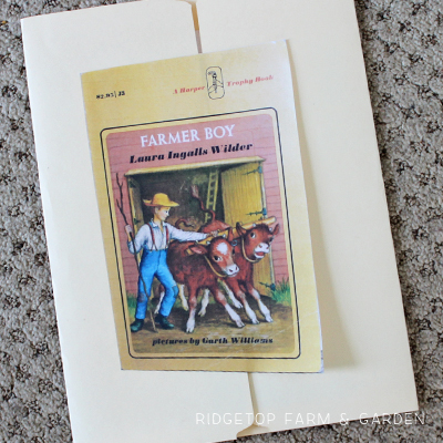 Farmer Boy Lapbook