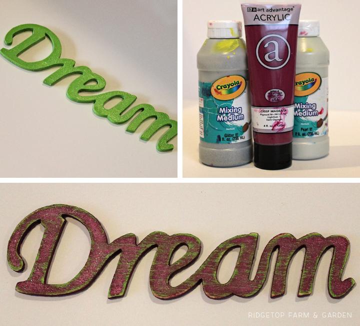 Ridgetop Farm and Garden | Disney Gallery Wall | Dream