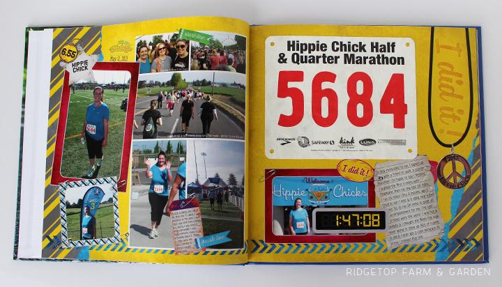 Ridgetop Farm and Garden   Running   Road to a Half Marathon Photo Book   Hippie Chick 2013