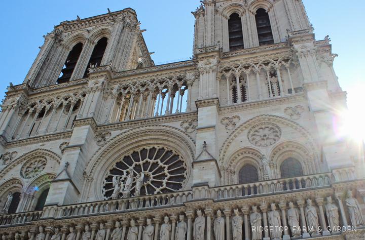 Ridgetop Farm and Garden | Travel | Europe | Paris | Notre Dame Cathedral