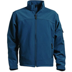 Accode Navy soft shell jacket