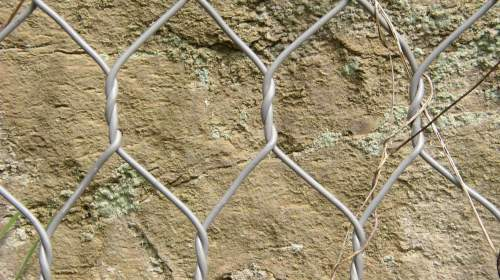 Close up: rock netting