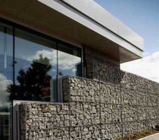 Feature Wall Cladding at The Outlet, Banbridge