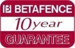 BETAFENCE 10 year guarantee 400x259