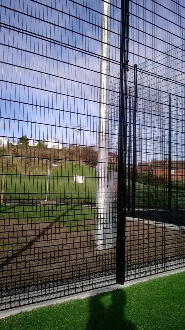 Ridgefence Sports Rebound Fencing used with new 3G Sports Pitch in Tandragee