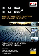 Ridgeway and Dura Composites stand location in the Kings Hall.