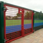 Ballymena Sports Grounds Ridgeway Sports Rebound Fencing