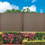 Durafor classic, a Wood Plastic Composite Fencing system