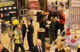 Some customers viewing the product ranges at Ridgeway's open day