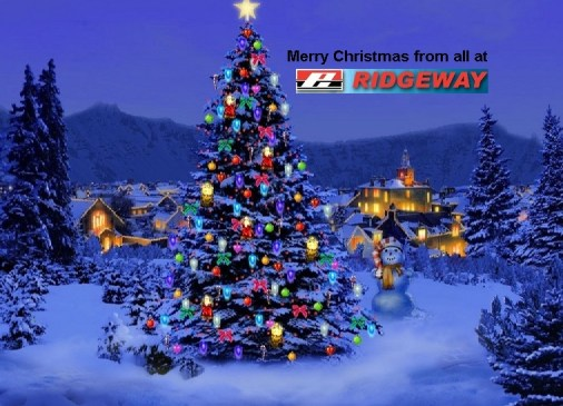 Merry Christmas and a Happy New Year from Ridgeway
