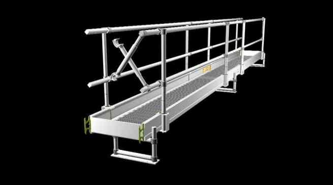 For specialised access solutions and aluminium walkways Ridgeway have you covered.
