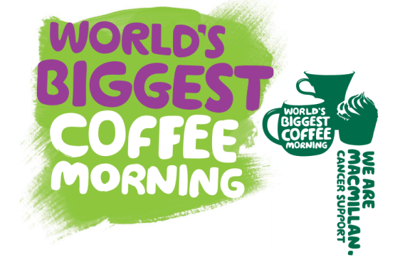 Come join us at our Macmillan coffee morning