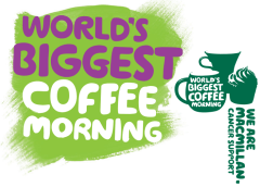 Come join us at our Macmillan coffee morning.