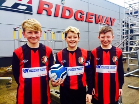 Ridgeway Colts 2005 Squad are delighted to obtain sponsorship