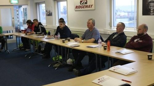CSR training at Ridgeway