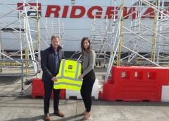 Ridgeway have donated PPE to ICE NI