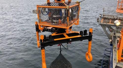 Global Offshore Installs Filter Unit RockBags
