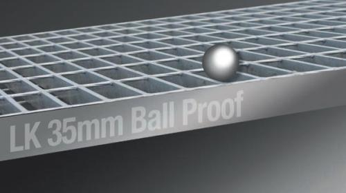 35mm Ball Proof Grating