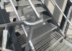 Flowforge Open Steel Flooring, the ideal solution for industrial flooring walkways and platforms