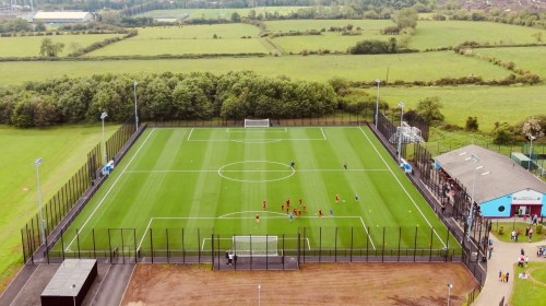 Ridgeway Supply Fencing Systems for Greenlsland FC
