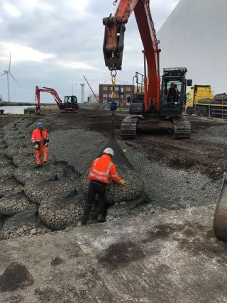 riverbank revetment regeneration
