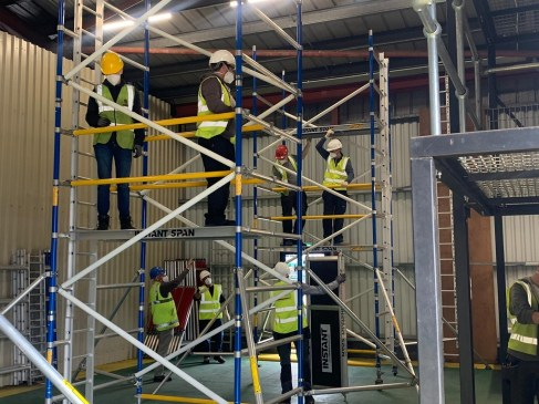 Book your PASMA and CSR training with Ridgeway