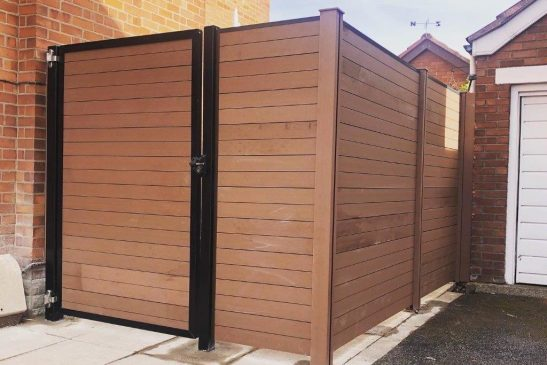 New decking and fencing installed in private garden – Orby, Belfast