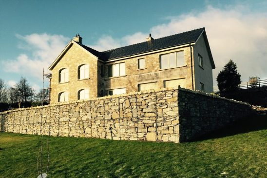 Concertainer Gabions installed on Private House – Holywood Hills