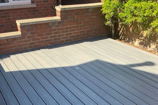Dura Deck Eco installed in private house – Green Road, Belfast