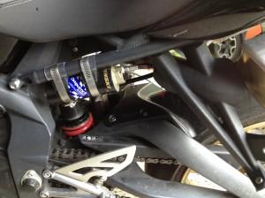 Penske 8389 remote shock