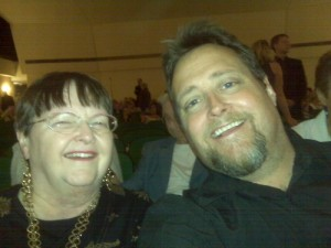 Me and Mom at Symphony