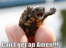 can i get an amen