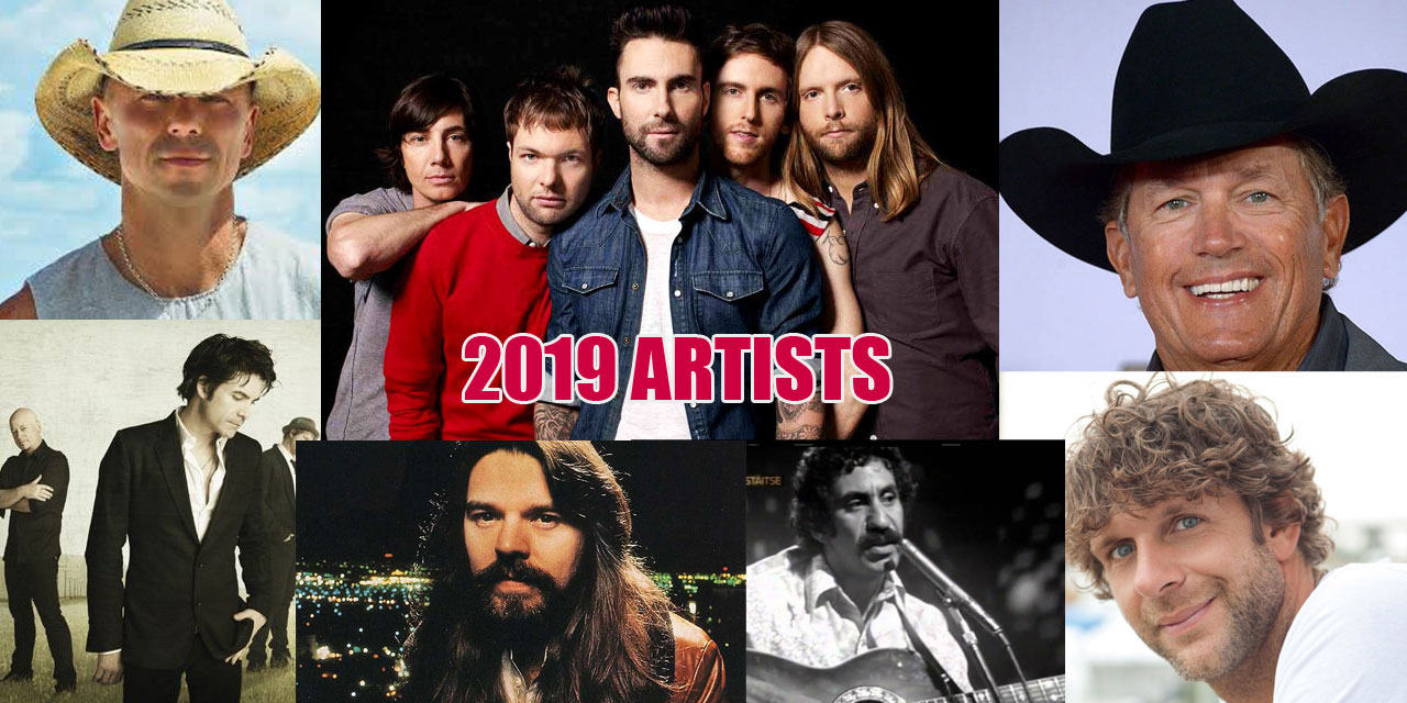 Chris Doelle's 2019 Top Artists