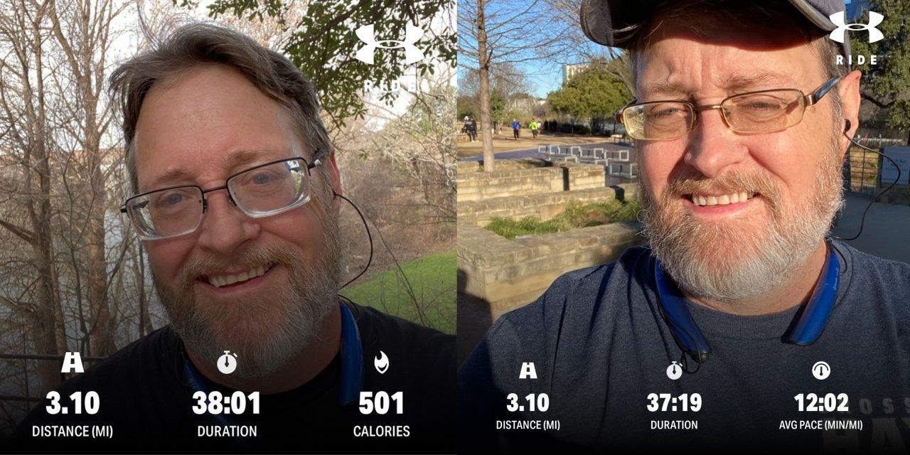 Running update – Start of February, 2020